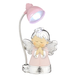 LAMPARA MINI ANGEL ROSA